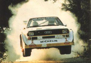 Audi Quattro Rally. Lo start-up di un branding di assoluto successo: il marchio Audi