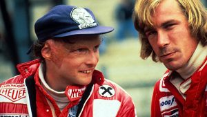 Niki Lauda & James Hunt. Great rivals and friends
