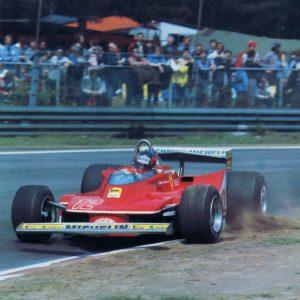 Gilles Villeneuve - Ferrari 312 T4 - 1979 (sarà secondo nel mondiale dopo aver dato spazio di vittoria al compagno di squadra, Jody Scheckter)