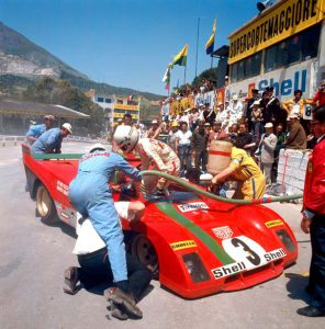 Ferrari 312 PB - Merzario - 1972