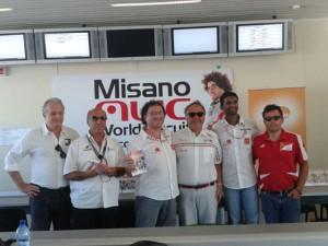 Da sinistra a destra: Sergio Peroni, Domenico Porfiri, Riccardo Paterni, Eros di Prima, Samit Naik, Luca Baldisserri