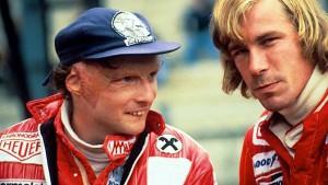 Niki Lauda & James Hunt; amici prima che avversari