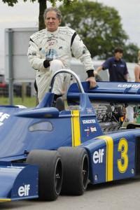 Jody Scheckter e la Tyrrel P34 (Agosto 2013)