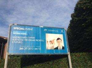 pannelli 6x3 in giro sulla circonvallazione di Lucca