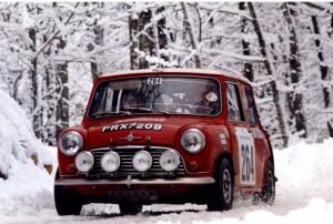 Mini Cooper S vittoria al Rally di Montecarlo 1964, '65 e '67