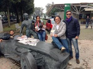 Assieme a Lorenzo Senna e in onore di Juan Manuel Fangio!
