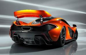 McLaren P1 - top della Tecnologia del Gruppo McLaren - ha debuttato al Salone di Ginevra del 2013
