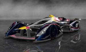 Red Bull X2014 futuristic F1