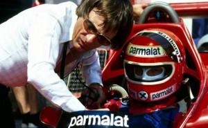 Bernie Ecclestone e Niki Lauda