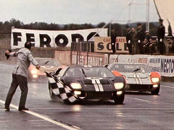 Le Mans 1966, la vittoria storica della Ford GT40 Mk II