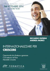 16 Settembre, presso Assindustria Lucca