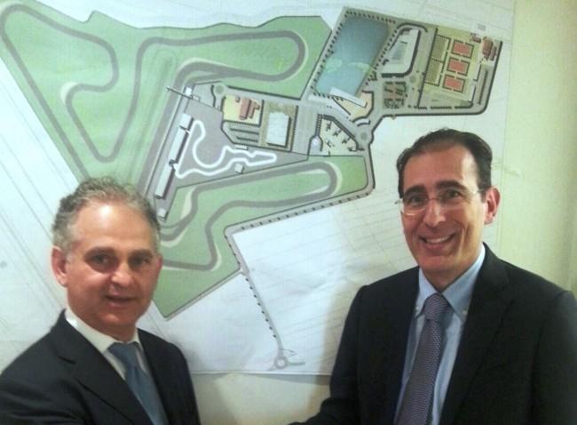 Alfredo Medici (Presidente Pluris Servizi Immobiliari) e Walter Sciacca (CEO MPA)